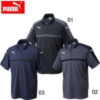 PUMA TWV SS スウェットシャツ(メンズ)  吸汗速乾機能を搭載した チームウエア用半袖スウ...