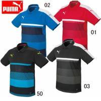 PUMA TWV ポロシャツ(メンズ)  フォームストライプを基調とした チームウエア用ポロシャツ。...