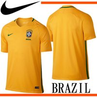 ブラジル代表  CBF DRI-FIT S/S ホーム スタジアム ジャージ  2016 ブラジル ...