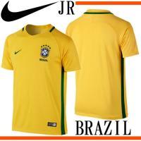 ブラジル代表 YA CBF  DRI-FIT S/S ホーム スタジアム ジャージ  2016 ブラ...