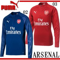PUMA アーセナル 1/4トレーニングトップ  イングランド プレミア クラブ アーセナルの201...