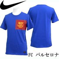 NIKE FC バルセロナ  FCB クレスト S/S Tシャツ  FC バルセロナ   ■素材 プ...