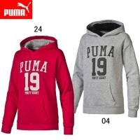 PUMA GL フーデッドスウェットGIRLS  スポーティーでカジュアルなガールズ コレクションの...