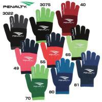 ツートーンニットグローブ 手袋(penalty)ペナルティーアクセサリー 19fw r1(pe9719)