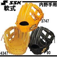 SSK 軟式プロエッジ内野手用  「どれだけ手になるか」 プロの基本型をそのまま再現。   軟式野球...