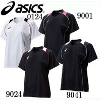 W'SプラシャツHS  asics アシックス レディース バレーボールウェアー(XW6418)