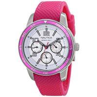 商品名:Nautica Women's N15634M NCT Perforated Watch w...