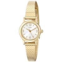 商品名:Timex Women's T2P3009J Gold-Tone Watch 型番:T2P3...