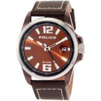商品名:Police Men's PL-12591JSBNS/65 Lancer Brown Dia...