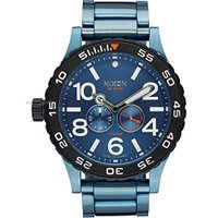 商品名:Men's Nixon Moon Raider Blue Titanium G10 Watc...