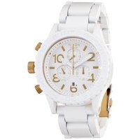 商品名:NIXON wristwatch 42-20 CHRONO ALL WHITE / GOLD...