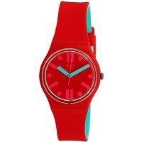 商品名:Swatch Men's Rossofino GR170 Red Rubber Swiss ...
