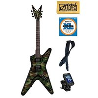商品名:Dean DimeBag Dime Camo ML Electric Guitar, FRE...