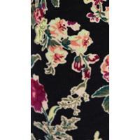 フリーピープルFree People Printed Cord Skinny, Black Floral Print, 28