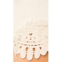 フリーピープルWe The Free Womens Lace Inset Distressed Denim Shorts White 24