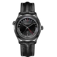 商品名:Hamilton H32685731 Jazzmaster GMT All Black Le...