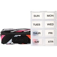ヴェラブラッドリーVera Bradley Women's Travel Pill Case Northern Lights Luggage Accessory