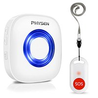 SOS緊急コールセット PHYSEN 呼び出しベル 介護ベル ポケットベル  (1T1)