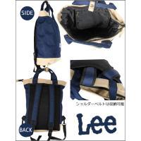 Lee  トートバッグ  黒 ネイビー 2色 ポリ