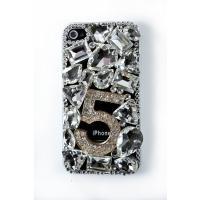 【メール便送料無料】【iPhone4S ケース ラインストーン】【iphone4 デコケース】Fiv...