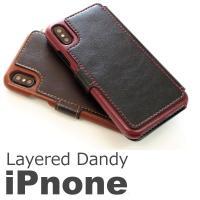 【送料無料】iPhoneXのレザータイプ手帳型ケースです。 手帳型 手帳 カバー 手帳型ケース おし...