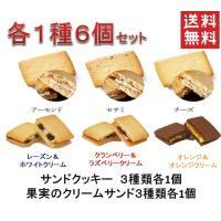 500円ポッキリ送料無料6種類セット 60年以上愛されてる老舗の人気洋菓子クリームサンド6種類お試し...
