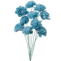1束10本 約25cmL 花径:約4cm   *自然の生花や植物を原料としています。 サイズ、色、形...