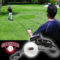ジップアンドヒットプロ zip-n-hit 野球練習用具  ◆新発想!◆ ハンドルからフックまでひも...