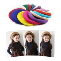シンプルで女の子も男の子も使えるベレー帽です。 豊富なカラーの中からお選びください48-50cmウー...