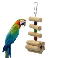 止まり木 鳥グッズ ペット用品 オウムおもちゃ 鳥 グッズ インコ噛む玩具 吊下げタイプ玩具 オウムスタンド かじり木 ストレス解消 ケージ飾り