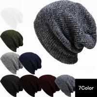 男女兼用で使えるシンプルなニット帽。防寒対策にもピッタリ♪フリーサイズ