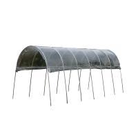 雨よけ栽培に必要な骨組、パッカー、ビニールのセットです。  降雨が苦手なトマトやナスなどから、 ひび...