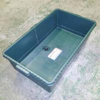洗太郎 60型 排水口付きポリブネです。  アウトドア用品の収納ボックス兼簡易流し台として。 大きな...