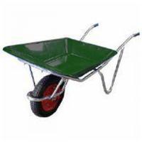 アルミ製で軽く、さびに強い農作業用の一輪車です。 浅型 2才積。 舟はポリエチレン製でくさりません。...