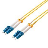 【在庫目安:お取り寄せ】 ELECOM OC-LCLC1/3 光ファイバーケーブル/ シングルモード/ LC-LC/ 3m