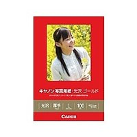 【在庫目安:あり】Canon  2310B001 写真用紙・光沢 ゴールド L判 100枚 GL-101L100