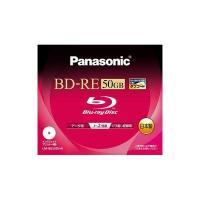 LM-BE50DHA Panasonic BD-RE DL 2倍速 1枚 LMBE50DHA 松下電...