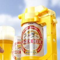 『ビールアワー』は缶ビールに装着するだけで簡単に本格的な泡が作れるビールサーバー!注ぎ口に内蔵された...