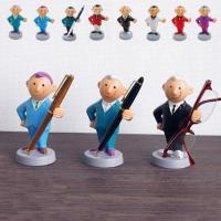 紳士たちが、あなたのペンをエスコート♪ドイツのフィギュア製作の名門、アルフィ社のペンスタンド。職工た...