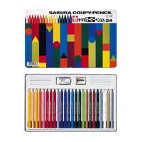 折れにくい、消しやすい、削れます。全部が芯の色鉛筆。 色鉛筆の描きやすさと、クレヨンの持つ発色の美し...