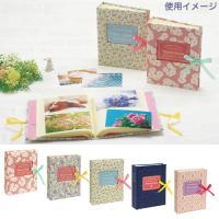 Lサイズの写真が200枚収容できる、大容量タイプのポケットアルバムです。 表紙はかわいい花柄、キラキ...