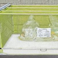 三方枠がブロック等のゴミ集積場に、レールとガード部材を取り付けるだけの簡単施工。 製造国:日本 素材...