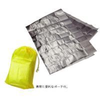 防風・防水・保温効果抜群で、あらゆる場面で大活躍の携帯保温シートです。 製造国:中国 素材・材質:本...
