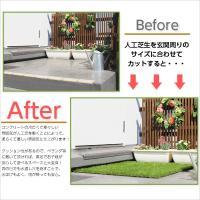 ガーデンターフ 高さ35mm 10mロール リアル人工芝 人口芝生