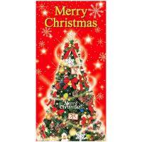 ●サイズ:H180×W90cm●材質:テトロンポンジ・ABS●上下パイプ・上部ひも付●クリスマスツリ...