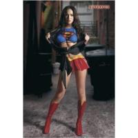 ポスター:Super Girl ミーガン・フォックス サイズ:91.5×61cm フレーム:なし 補...