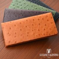 本牛革財布 オーストリッチ型押 財布 レディース 財布 メンズ おとなの本革財布