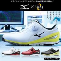 ミズノ MIZUNO ゴルフシューズ メンズ ボア ネクスライト 002 Boa 51GM1526 ...