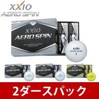 ゼクシオ XXIO ゴルフボール 2ダース 3ピース 新品 人気 飛距離 ホワイト イエロー エアロ...
