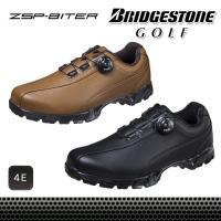 ブリヂストン BRIDGESTONE ゴルフシューズ メンズ スパイクレス ボア ダイヤル式 4E ...